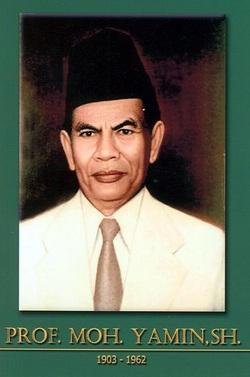 Gambar Mohamad Yamin Kongres Sumpah Pemuda Muhammad Yamin Jejak Sejarah