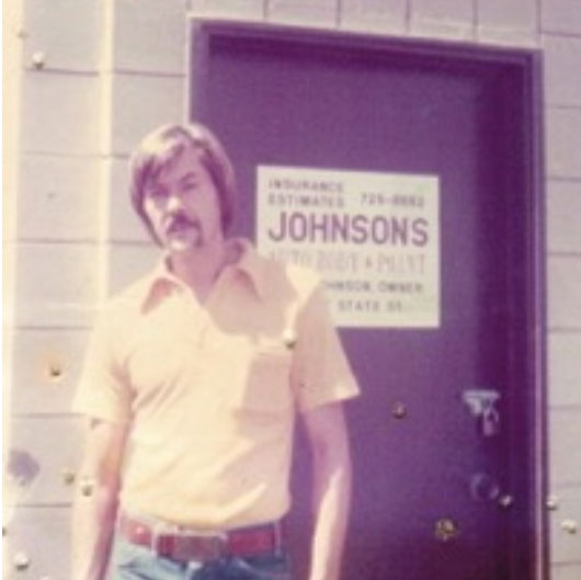 Russ Johnson at Johnson's Auto Body