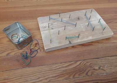 cadre à élastiques