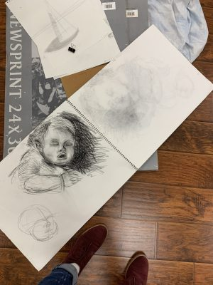 Figure Art Drawing Classes for kids and adults