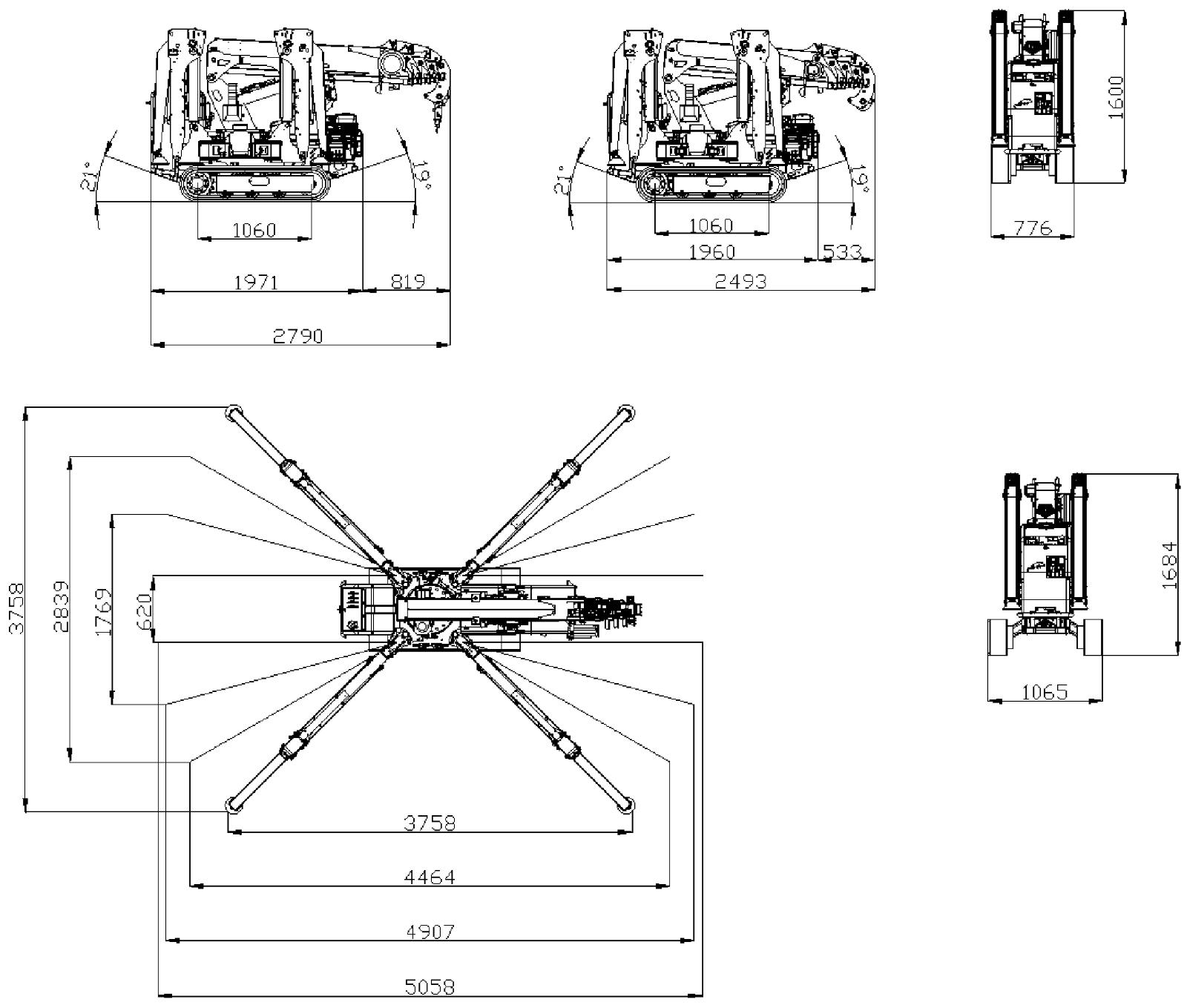 Mini Crane Spx312