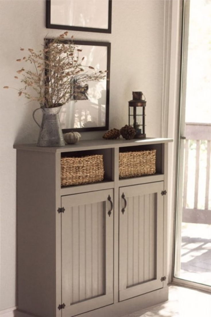 entry table with storage