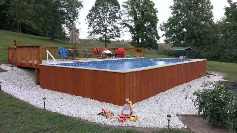 Modern Above ground Pool Ideas & Decoration Pictures