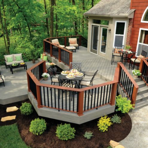 20 Insanely Cool Multi Level Deck Ideas For Your Home