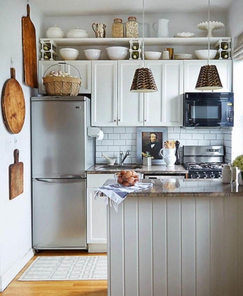 25+ Amazing Small Kitchen Remodel Ideas that Perfect for ...