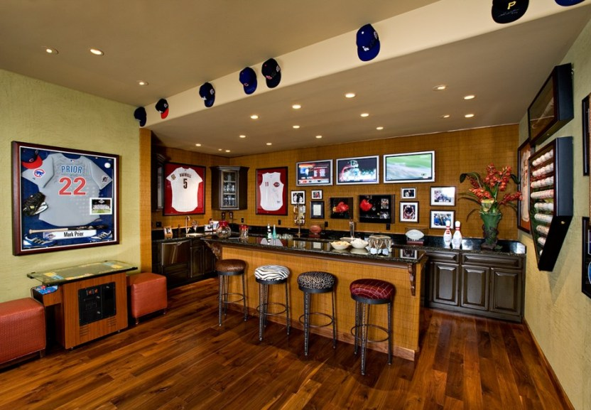 Basement Ideas for Man Cave