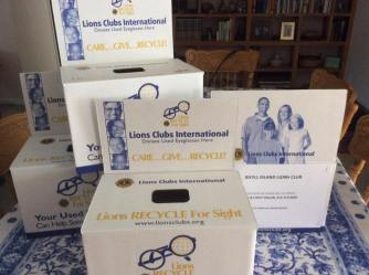 Eyeglasses Recycling Boxes