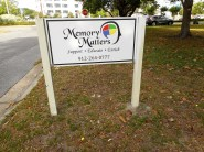 The Memory Matters sign.
