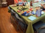 The volunteer lunch.
