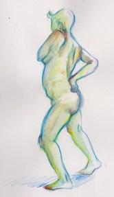 "Watercolour Pencil, 8 x 10"""