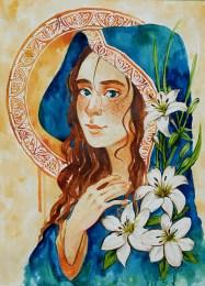 "Watercolour, 12x16"" Original Commission"