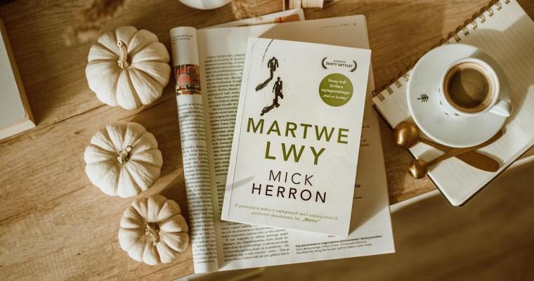 Martwe lwy – Mick Herron