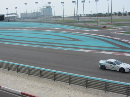 The F1 track