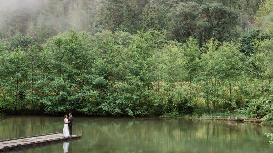 Cheakamus centre wedding photography