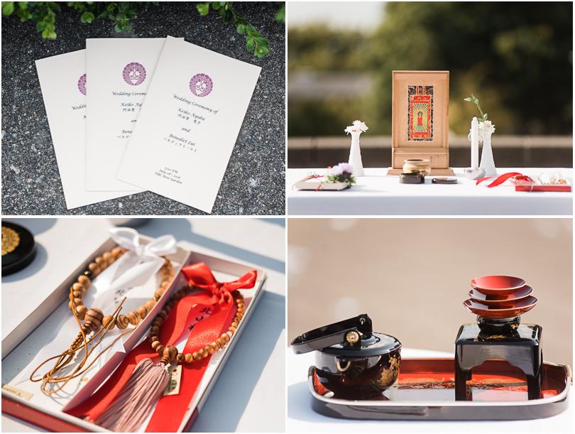 Buddhist wedding ceremony in Vancouver