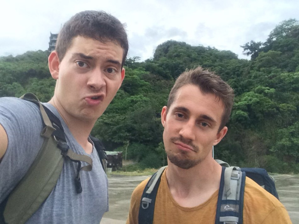 Photo of Marvin and Jellis in Vietnam - Article: Think Like a Genius
