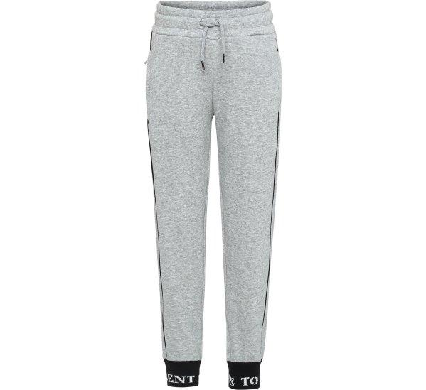 Act-Grey melange soft pants-Joggers-molo-98-3 yrs-jellyfishkids.com.cy