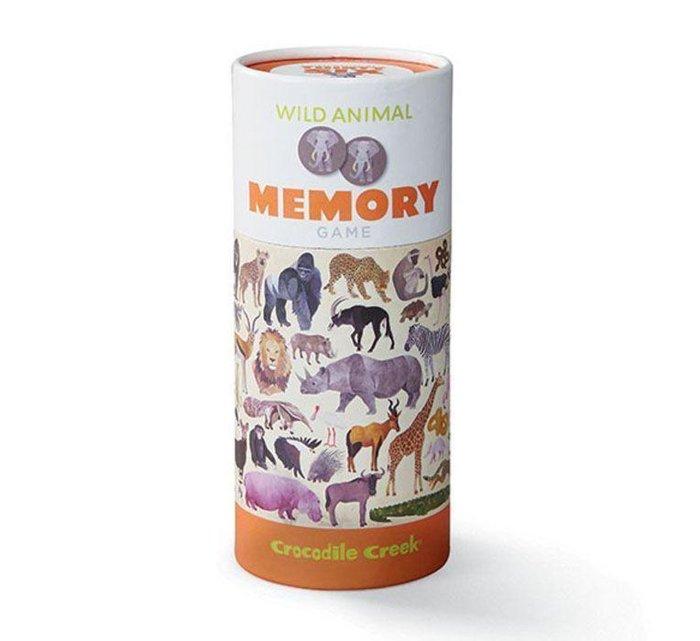 Animals of Africa-Memory Game-Crocodile Creek-jellyfishkids.com.cy
