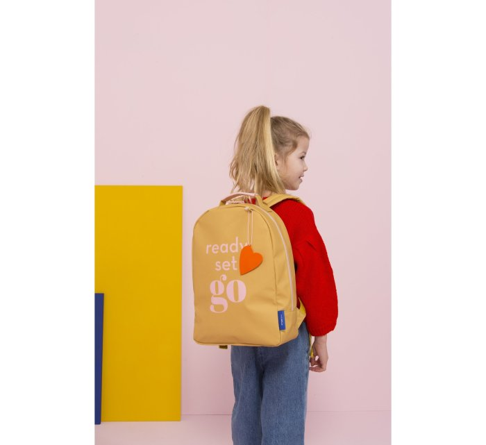 Backpack Love - Miss Rilla - Yellow-rucksack-Miss Rilla-jellyfishkids.com.cy