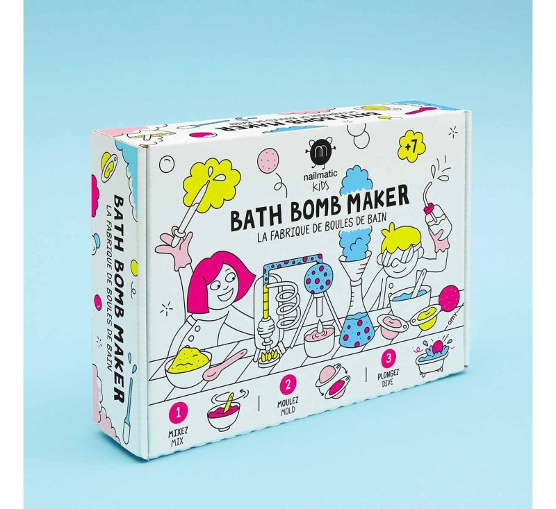 Bath Bomb Maker-Bathbomb-Nailmatic-jellyfishkids.com.cy