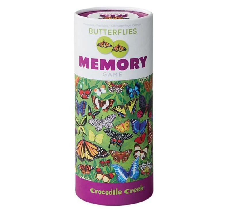 Butterflies - Memory Game-Memory Game-Crocodile Creek-jellyfishkids.com.cy
