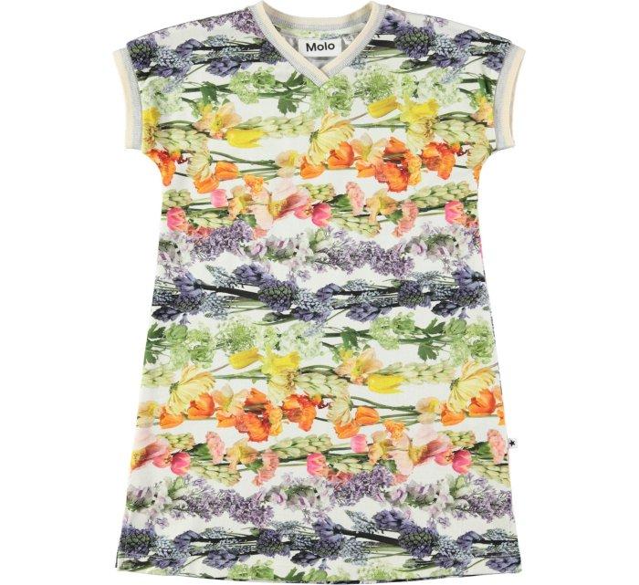 California Dress - Rainbow Bloom-DRESS-MOLO-92/98-2/3 YRS-jellyfishkids.com.cy