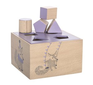 Circus Intelligence Box, Purple, Beech-Wooden Toys-Bloomingville-jellyfishkids.com.cy