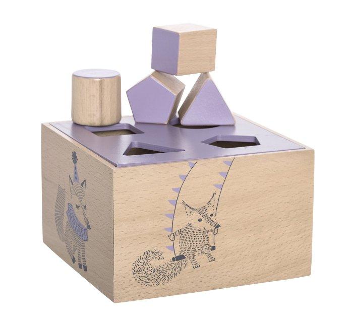 Circus Intelligence Box, Purple, Beech-Wooden Toys-Bloomingville-jellyfishkids.com.cy