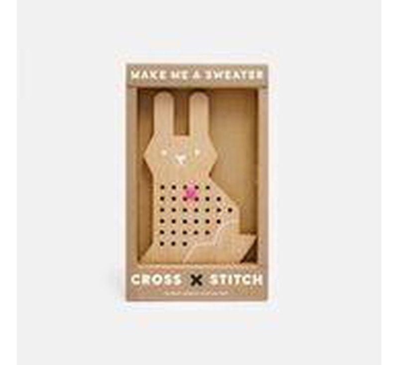 Cross Stitch friends - Rabbit-CROSS STITCH-MOON PICNIC-jellyfishkids.com.cy