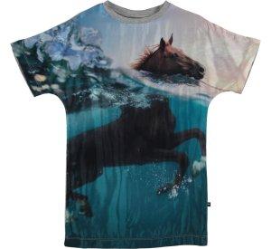 Cyrille- Swimming Horses-DRESS-molo-92/98-2-3 yrs-jellyfishkids.com.cy