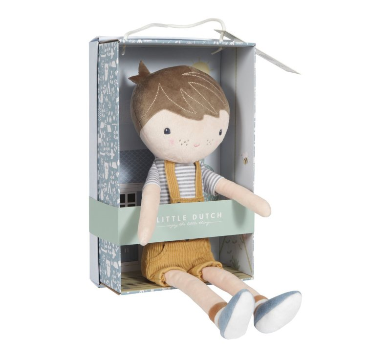 Doll Jim Medium 35cm-Doll-Little Dutch-jellyfishkids.com.cy