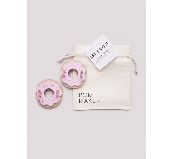 Donut Pom Maker - Strawberry-Donut Pom Maker-Pom Maker-jellyfishkids.com.cy