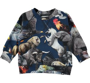 Elmo National Animals top-LONG SLEEVED TOP-MOLO-92 - 2 yrs-jellyfishkids.com.cy