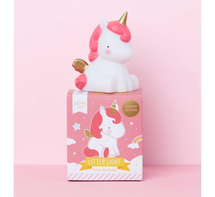 Gold Unicorn little light-Light-A Little Lovely Company-jellyfishkids.com.cy