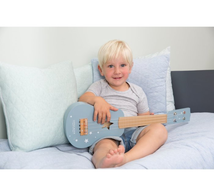 Guitar - Blue-Musical Instrument-Little Dutch-jellyfishkids.com.cy