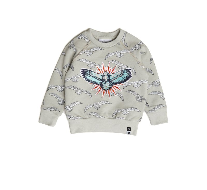 Hedwig Badge Sweatshirt-Jumper-Tobias and the Bear-3-4 YRS-jellyfishkids.com.cy