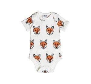 Just call me Fox vest romper-Vest Romper-Tobias & Bear-18/24 mths-jellyfishkids.com.cy