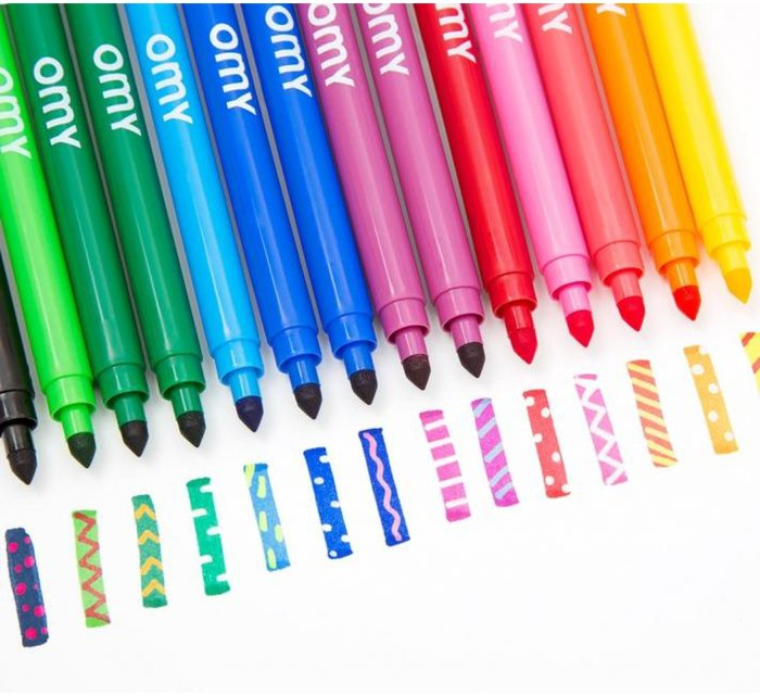 Magical felt pens-Gel Crayons-OMY-jellyfishkids.com.cy