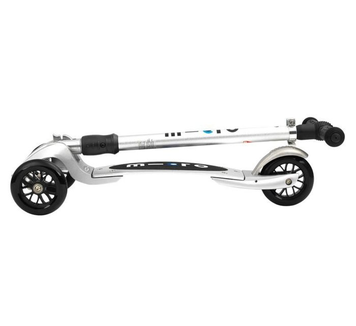 Micro Compact T Silver with Interchangeable T-Bar-Micro Scooter-Micro Scooter-jellyfishkids.com.cy