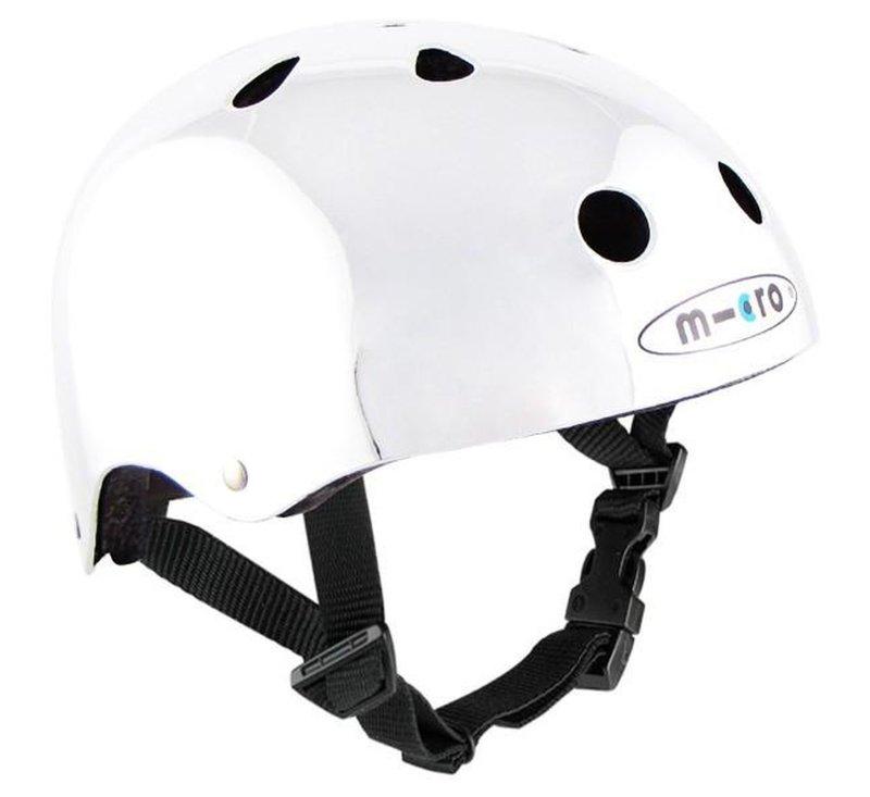 Micro Helmet Silver-Helmet-Micro Scooter-M(51cm-56cm)-jellyfishkids.com.cy