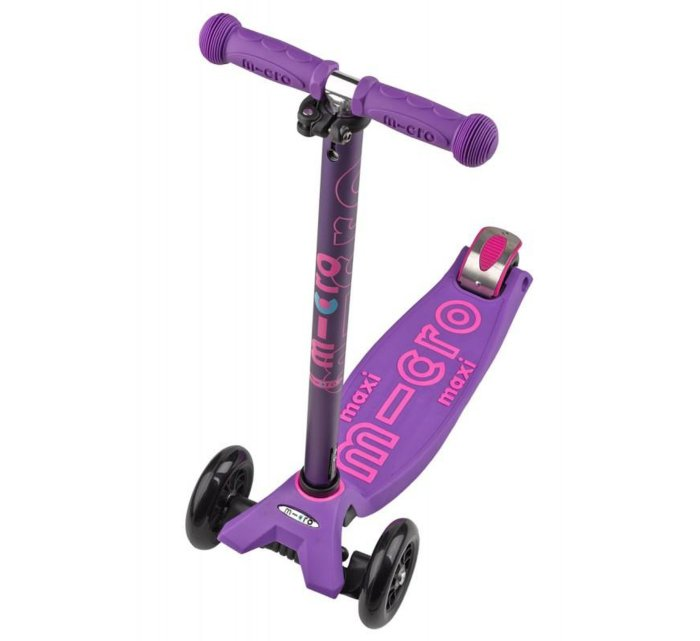 Micro Scooter - Maxi Deluxe - Colour Options-Scooter-Micro Scooter-Purple-jellyfishkids.com.cy