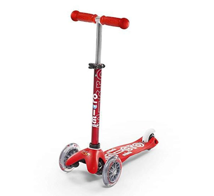 Micro Scooter - Mini Deluxe - Colour Options-Scooter-Micro Scooter-Red-jellyfishkids.com.cy