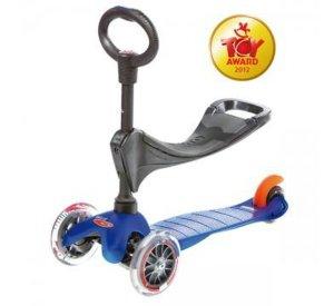Mini Micro Blue O-Bar & Seat-Micro Scooter-Micro Scooter-jellyfishkids.com.cy