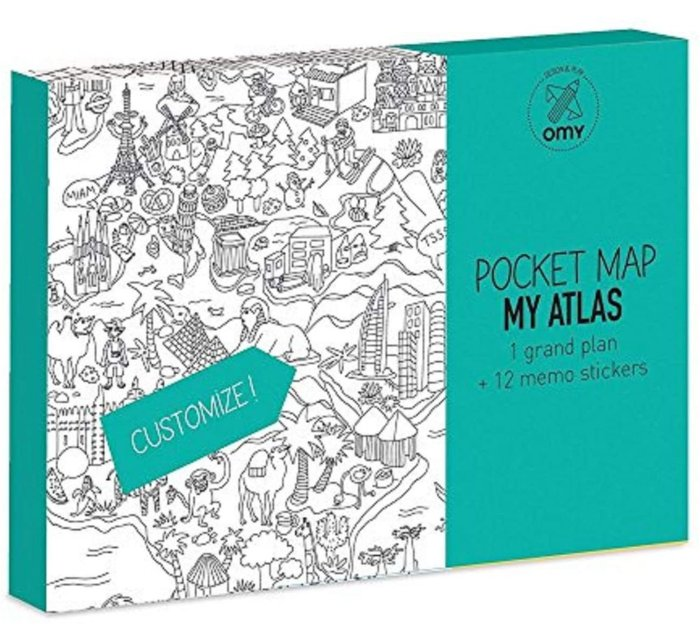 My Atlas Coloring Pocket Maps-Coloring Pocket Maps-OMY-jellyfishkids.com.cy