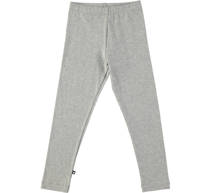 Nice Grey melange legging-GIRLS LEGGINGS-MOLO-98-jellyfishkids.com.cy