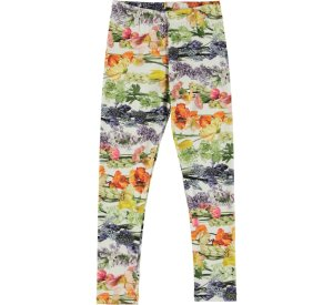 Niki Rainbow Bloom Leggings-GIRLS LEGGINGS-MOLO-98 - 3 yrs-jellyfishkids.com.cy