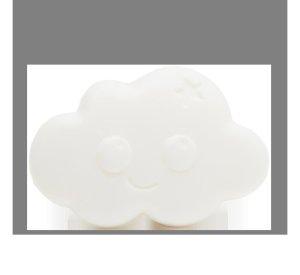Organic cloud shaped soap-Organic soap-Nailmatic-Rasberry-jellyfishkids.com.cy