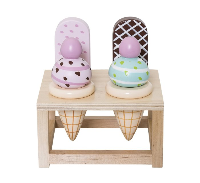 Play Set, Food, Multi-color, Lotus-Wooden Toys-Bloomingville-jellyfishkids.com.cy