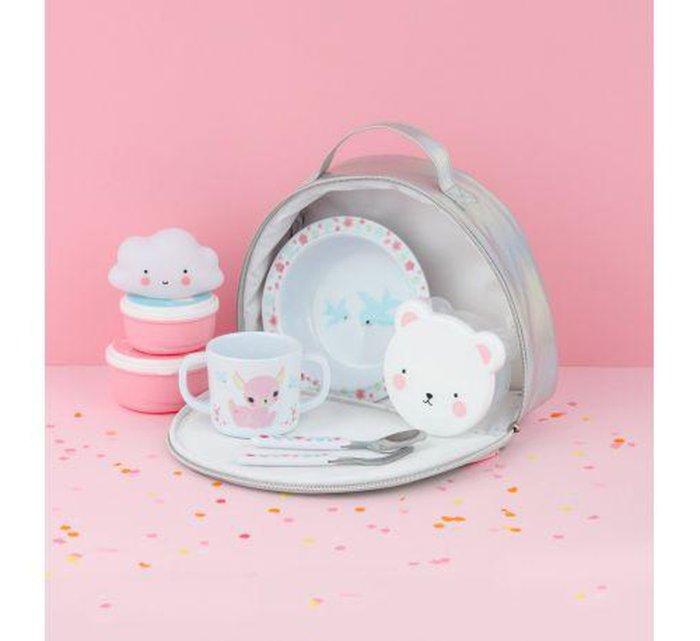 Rainbow cool bag-Lunchbox-A Little Lovely Company-jellyfishkids.com.cy