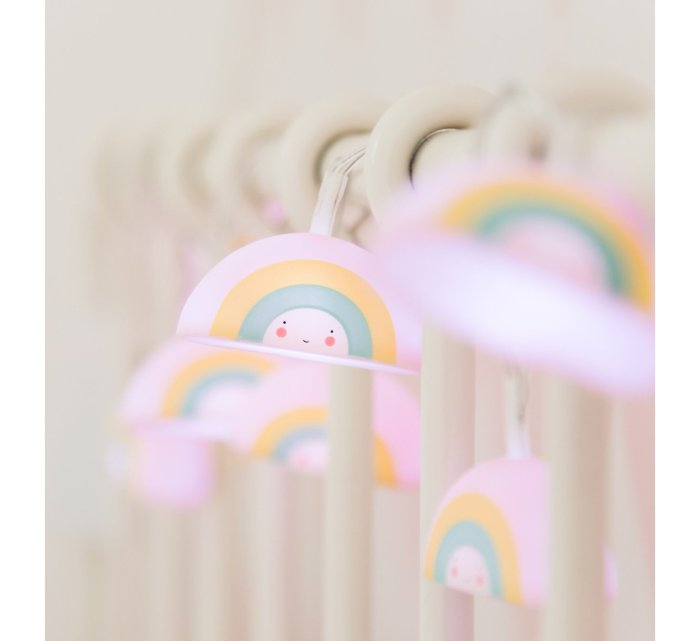 Rainbow String Lights-Light-A Little Lovely Company-jellyfishkids.com.cy